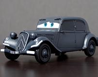 CARS ST NO.3 / 1/35 Citroen Traction 11CV / TAMIYA