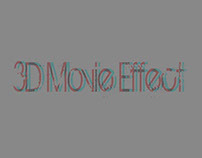 3D Movie Effect