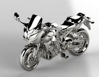 Golden Bike toy