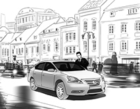 Storyboard for Nissan