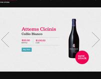Web UI for Friedrich Muller Wine Store