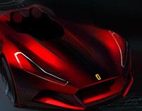 Ferrari concept sketches