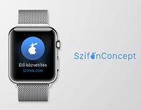 Szifon Apple Watch Concept