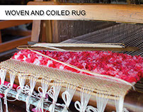 WOVEN AND COILED RUG