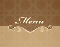 Cafe's Photography & Menu design