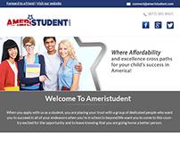 AmeriStudent Aweber Responsive Email Template Design