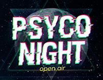 Psyco Night - Flyers