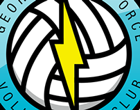 Georgetown Force Volleyball Club identity project
