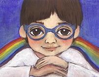 La niña del Arco Iris