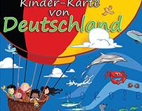 Kinder-Karte von Deutchland