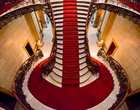 Escada principal do Palácio da Liberdade - BH/MG