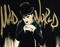 mad world Chaplin painting