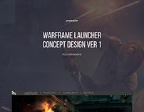 Warframe Launcher Concept