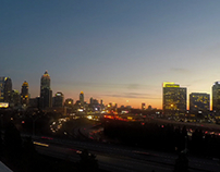 Atlanta Skyline Time Lapse