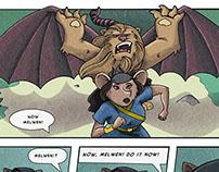 Cleadonia Comic