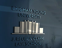 BYU LAW School logo—Brigham Young University