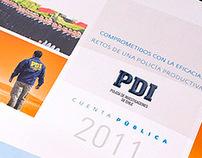 """PDI """"Cuenta Pública 2011"""""""