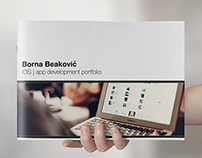 Borna Beaković - iOS developer brochure
