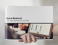 Borna Beaković - iOS developer brochure