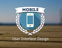 Mobile User Interface Design slides' logo