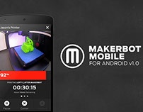 MakerBot Mobile for Android: Version 1.0