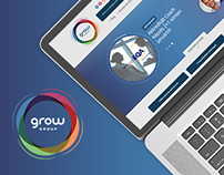 Grow Group - redesign