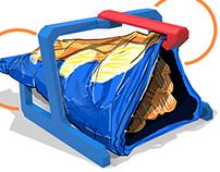 Cips Tutucu / 3Dörtgen Yılın Tasarımı Yarışması