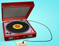 Record Player model