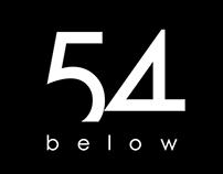 54 Below: Art Direction, Re-brand