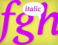 Rutger Serif (Italics)