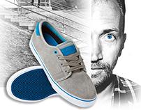 Fallen Footwear Ad Concept