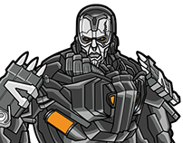 Transformers 4 Character Art