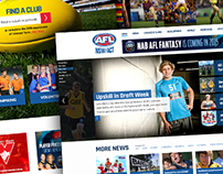 AFL NSW/ACT Website