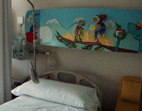 Illustrations that humanize children's hospitals