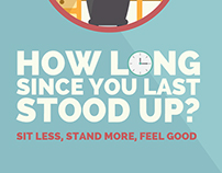 Health Promotion Agency | Sit Less Stand More