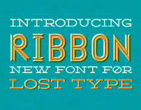 Ribbon Typeface