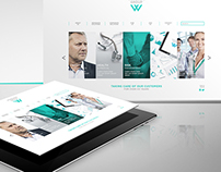 Responsive website Design - Windsor Group