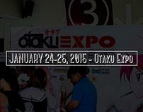 January 24-25,2015 - Otaku Expo
