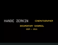 Documentary Cinematography Showreel 2015