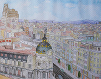 Gran Vía - Madrid | 2015