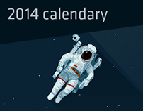 2014 space calendary