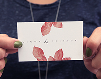 Simon & Allison Branding