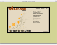 Cleanse Design - Website