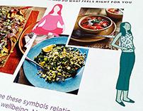 Tesco Magazine - Health Editorial Illustration