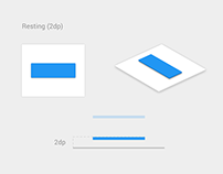 Material Design Button - Animation