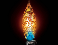 Cricket Lighter FHM Print Ad