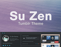 Su Zen - Tumblr Theme