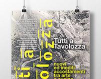 """Poster + invito """"Tutti a Tavolozza"""" / 2015"""