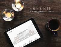BRANDY - Free PSD & HTML Minimal Portfolio Template