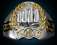 Champion Ring - Martial Arts